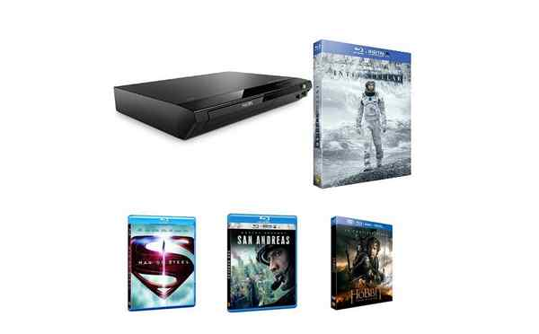 Un pack Blu-Ray + 6 films à 109,99€