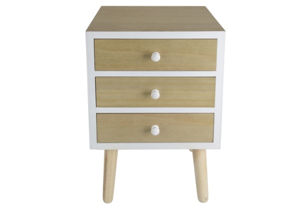 Action commode r tro 3 tiroirs 19 95 - Commode 3 tiroirs pas cher ...