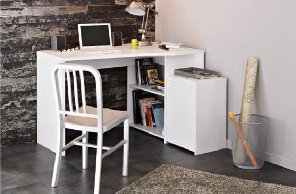 Bureau cult 121 cm de large for Bureau pas large