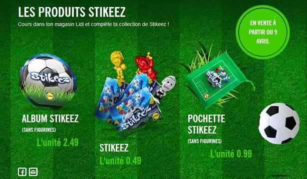 figurines stikeez collectionner lidl