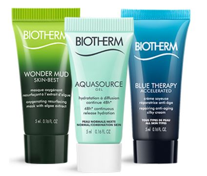 miniatures soin biotherm