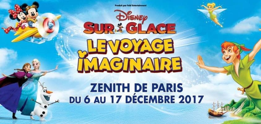 Réduction 50% billet Disney sur Glace 2017 2018