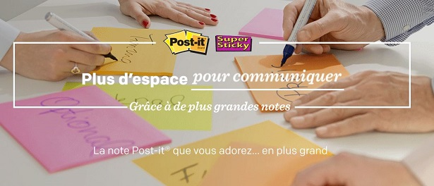 échantillon gratuit post it