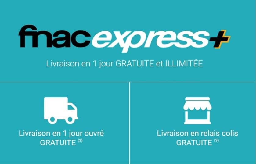 fnac express plus