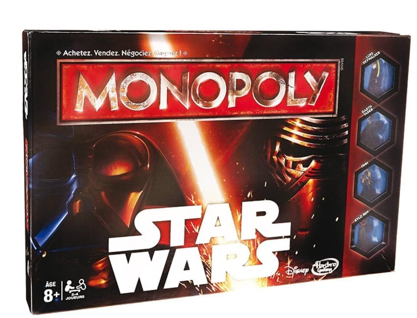 Monopoly Star Wars à 13,99 € sur Amazon