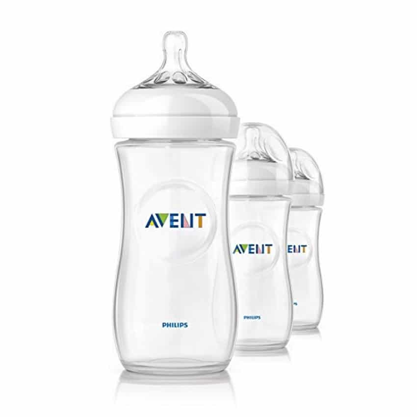 3 biberons Avent de 330 ml à 14,99 € sur Amazon