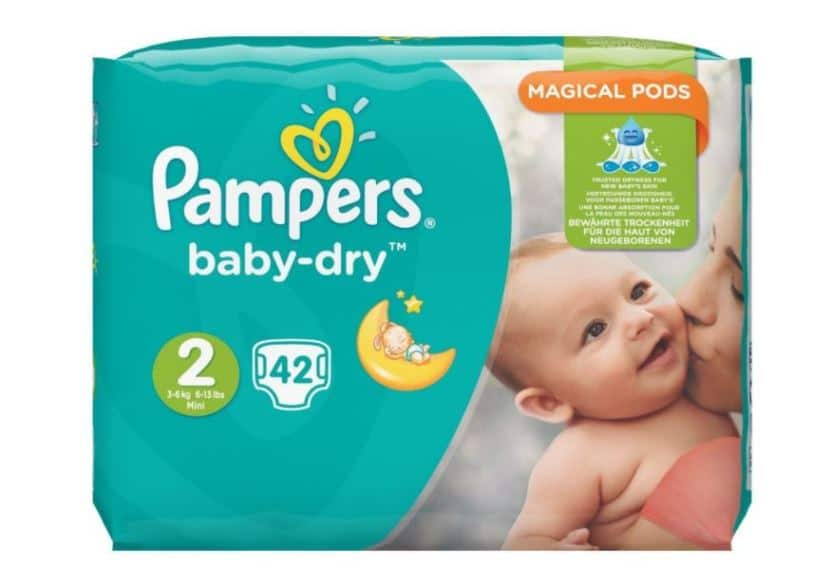 Couches Pampers taille 2 moins chères