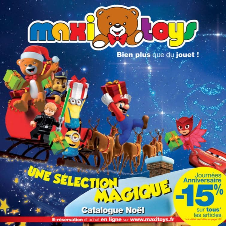 catalogue maxitoys no l 2017 d but octobre fin novembre