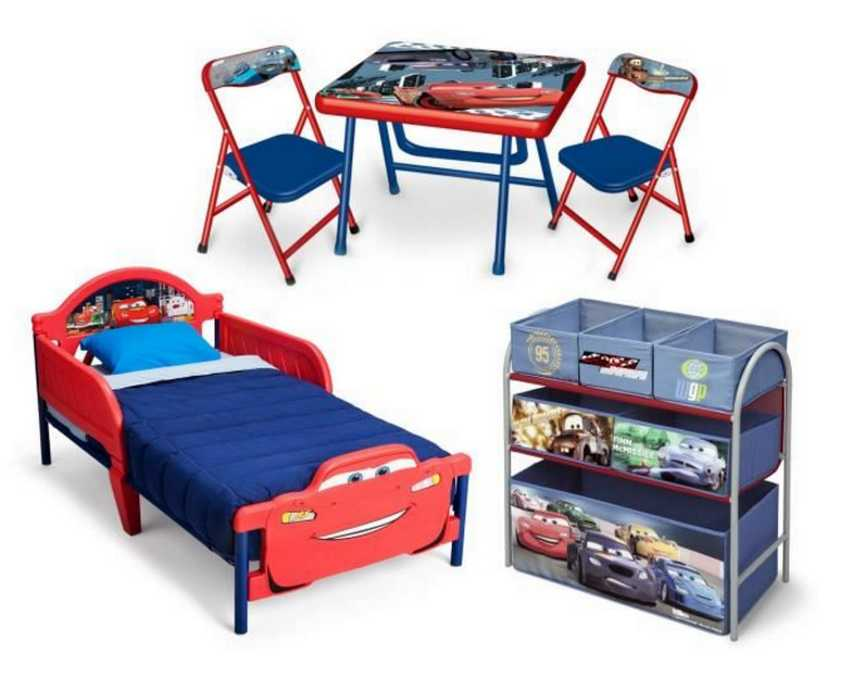 cdiscount chambre enfant compl te cars pat patrouille. Black Bedroom Furniture Sets. Home Design Ideas