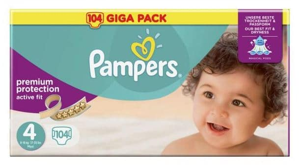 couches pampers activ fit chez carrefour