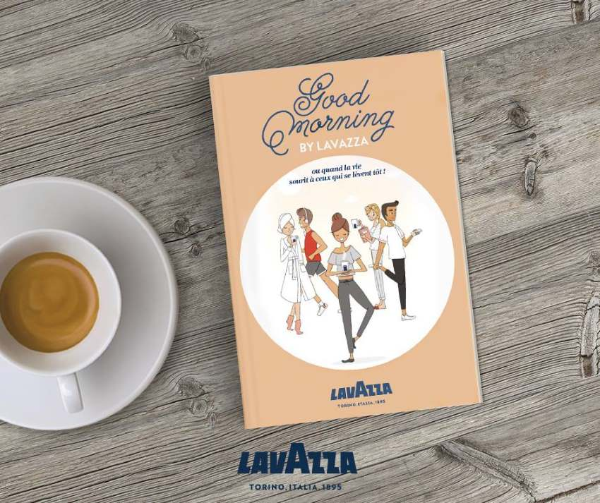 Demandez le guide des morningophiles de Lavazza !