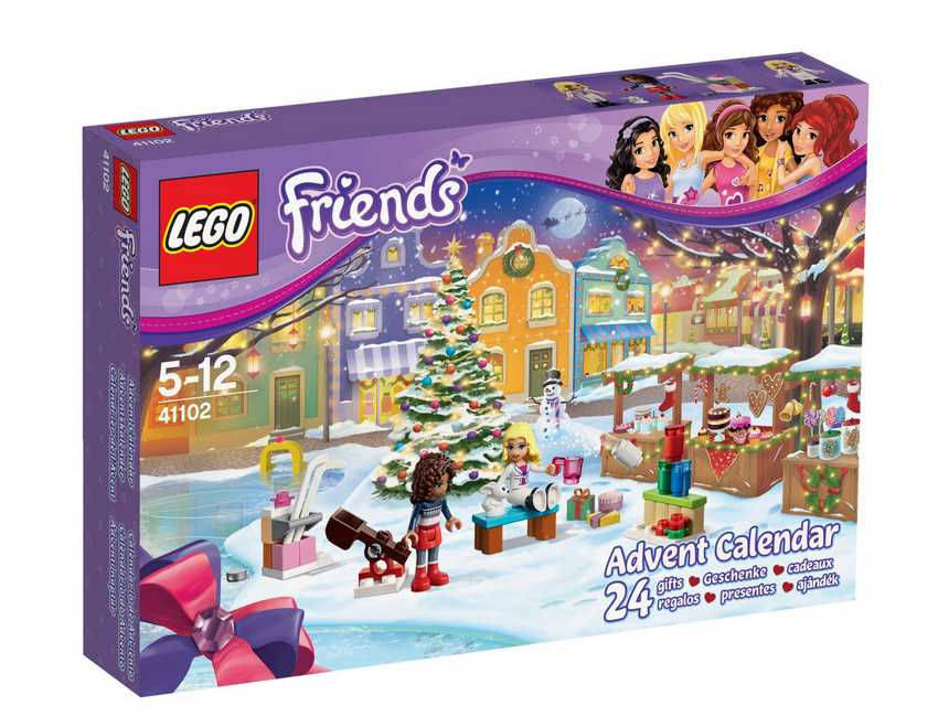 cultura calendrier de l avent lego friends 15 99. Black Bedroom Furniture Sets. Home Design Ideas
