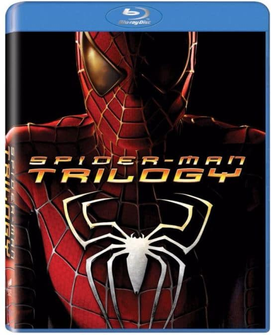 blu-ray spiderman