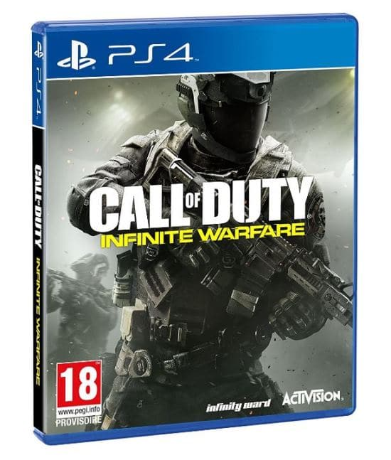 call of duty infinite warfare moins cher sur ps4