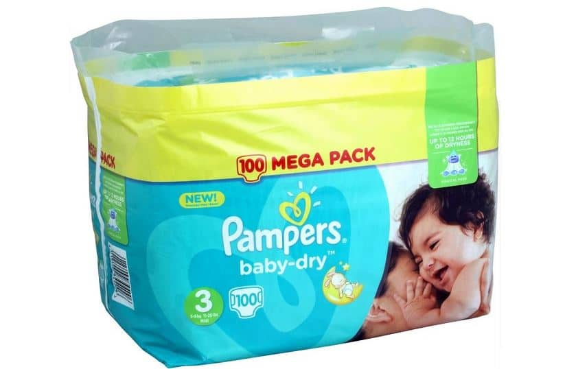 paquet pampers carrefour drive