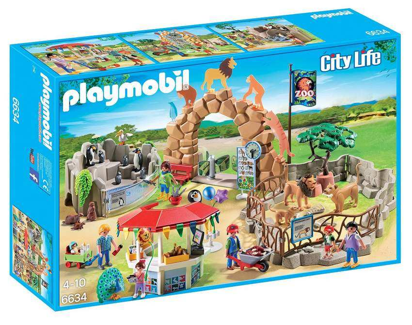 Le grand Zoo Playmobil à moins de 40 € chez Amazon