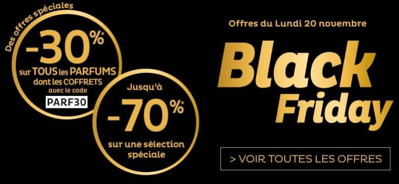 black friday nocibé 2017