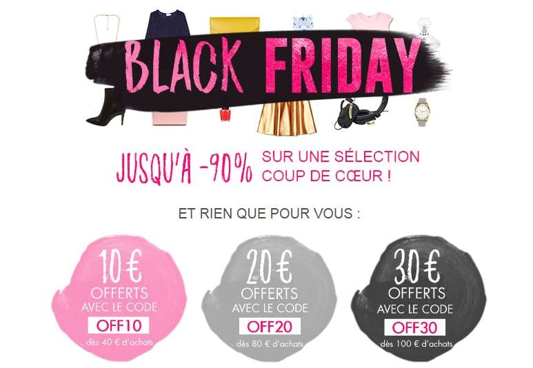 Black Friday 2016 de Showroomprive