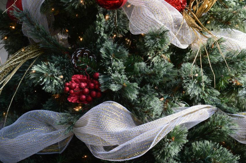 guirlandes et decorations de noel