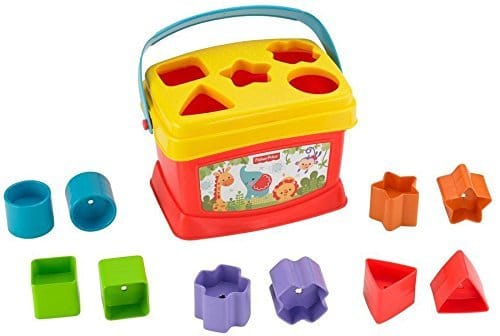 trieur de forme multicolore de Fisher Price à 7,19€ au lieu de 11,90€ chez Amazon