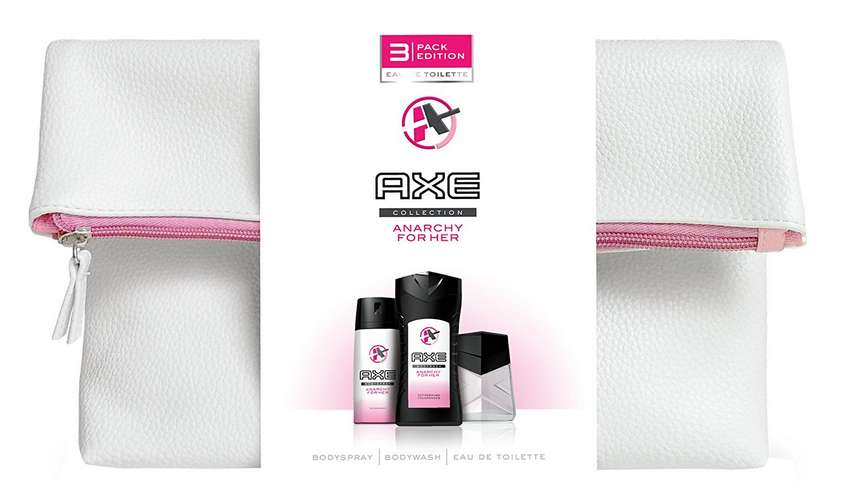 Axe De HerCoffret € Gel Toilette Anarchy 6 À 45 For DoucheDéoEau DEHIeW29Y