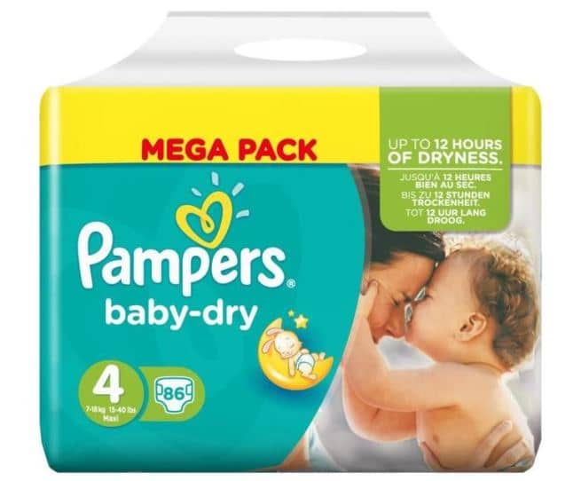 promo couches Pampers chez Cora