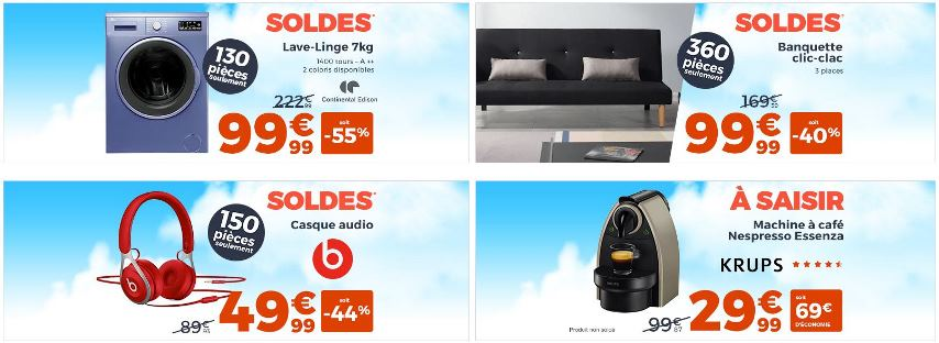 soldes cdiscount hiver 2017