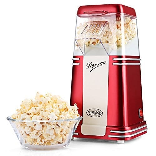 Promo machine à popcorn retro sur Amazon