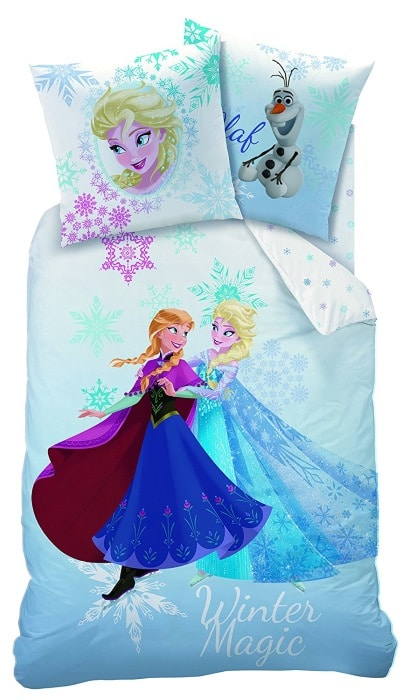 Parure de lit simple Reine des Neiges à 17,47 € sur Amazon