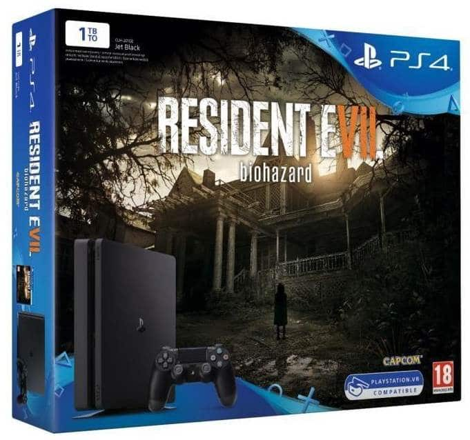 fnac pack ps4 slim 1 to resident evil 7 gta v 299 99. Black Bedroom Furniture Sets. Home Design Ideas