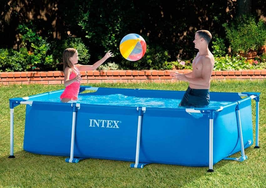 amazon piscine rectangle intex 2 60 x 1 60 x 0 65m 41 69