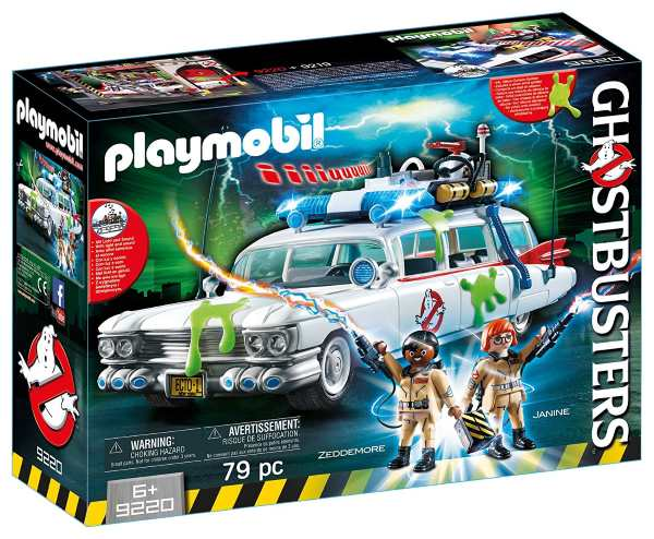 Le coffret Playmobil 9220 Ecto-1 Ghostbusters à 37,79 € sur Amazon