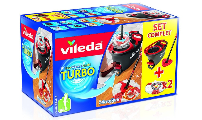 set vileda turbo complet et recharges