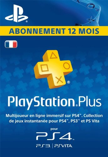 abonnement playstation plus 12 mois pas cher 39 99. Black Bedroom Furniture Sets. Home Design Ideas