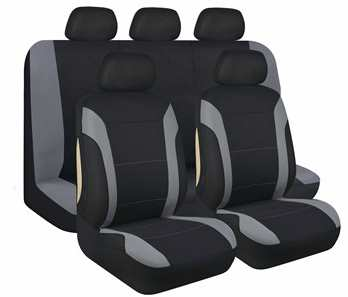 norauto jeu complet de housses universelles voiture twister 12 95. Black Bedroom Furniture Sets. Home Design Ideas