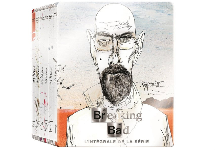 coffret breaking bad integrale blu-ray