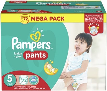Carrefour mega pack couches pampers baby dry pants 8 96 - Promo couche pampers carrefour ...