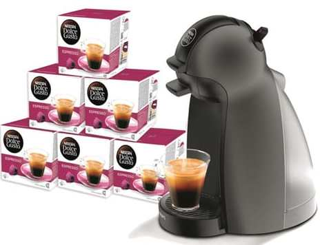 auchan cafeti re dolce gusto piccolo 6 bo tes de. Black Bedroom Furniture Sets. Home Design Ideas