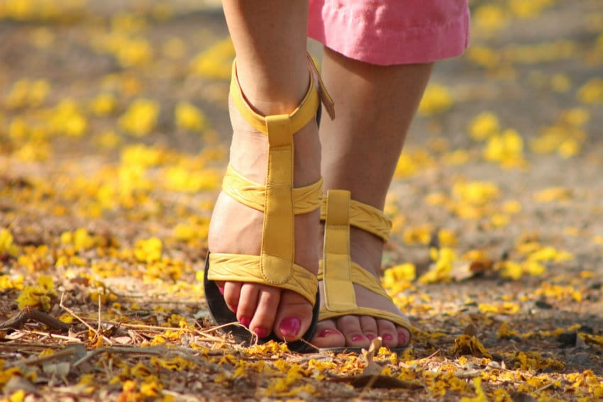 pieds brules a cause de chaussures