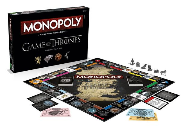 Le jeu Monopoly Game of Thrones à prix mini sur Amazon