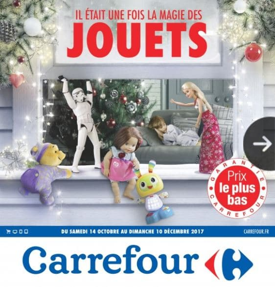 catalogue carrefour jouet no l 2017 promos et bons plans. Black Bedroom Furniture Sets. Home Design Ideas
