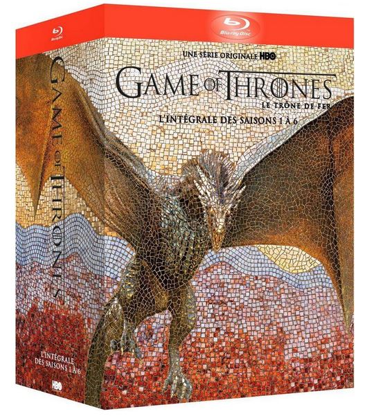 L'intégrale de Game of Thrones (saisons 1 à 6) dès 35,99 € sur Amazon