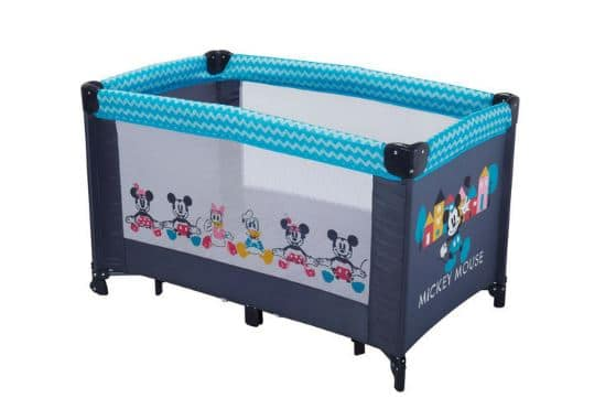 carrefour lit parapluie disney baby rose ou bleu 24 95. Black Bedroom Furniture Sets. Home Design Ideas