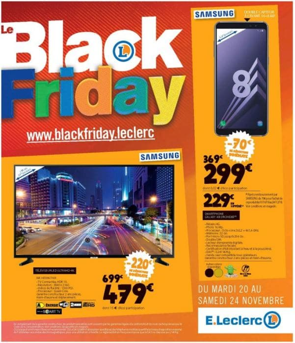 Black Friday Leclerc 2018