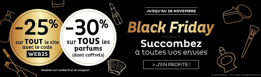 Black Friday Nocibé 2018