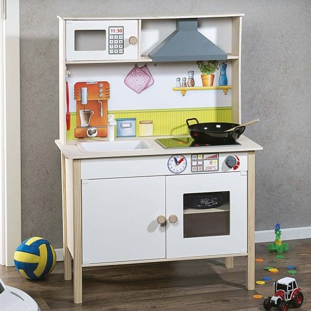aldi cuisine en bois pour enfants 59 99. Black Bedroom Furniture Sets. Home Design Ideas