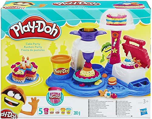 La pâte à modeler Play-Doh Cake Party à moins de 7 € sur Amazon