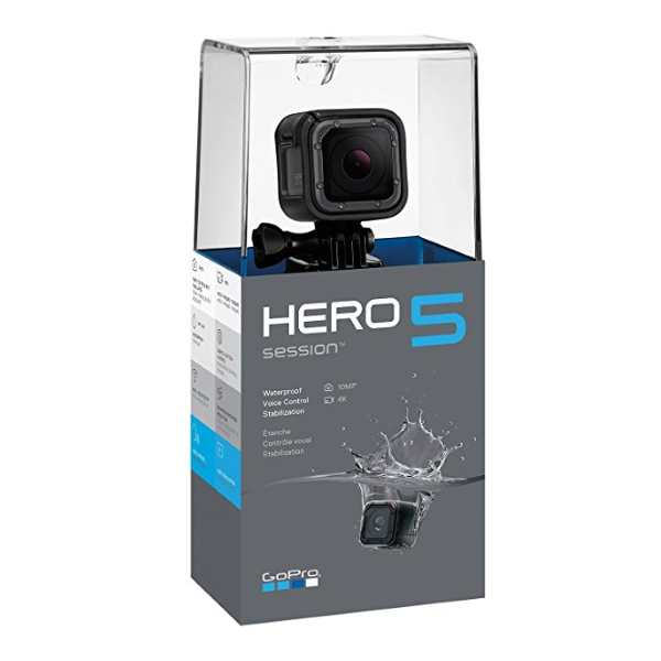 Caméra d'action GoPro Hero 5 Session à 219 € sur Amazon