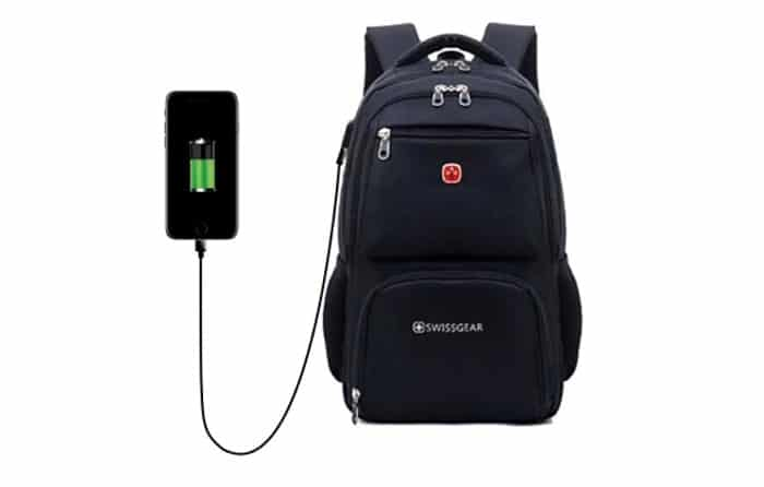 sac a dos chargeur usb integre