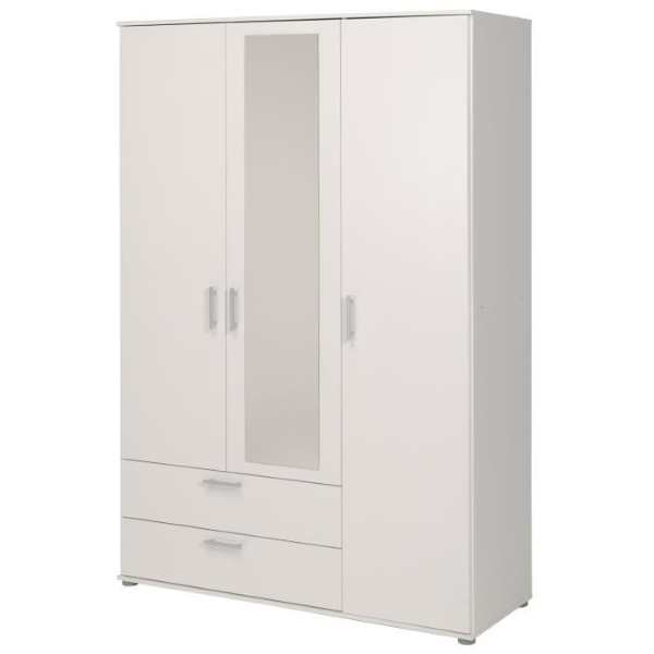 cdiscount armoire de chambre contemporaine kality 89 99. Black Bedroom Furniture Sets. Home Design Ideas